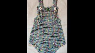 getlinkyoutube.com-CROCHET How to #Crochet Baby 18-24 month How to Crochet a Onesie Jumper Shirt Outfit #TUTORIAL #205