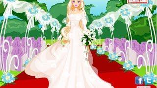 getlinkyoutube.com-Barbie Wedding Day Game Barbie Dress Up Game