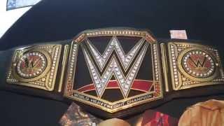 getlinkyoutube.com-WWE World Heavyweight Championship Replica Belt UNBOXING
