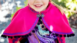 getlinkyoutube.com-Princess Anna Cape DIY
