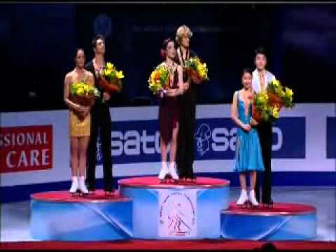 Dance Medal Ceremony World Championship Moscow 2011