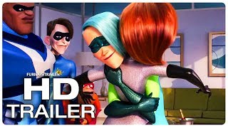 INCREDIBLES 2 Movie Clips (NEW 2018) Superhero Movie HD