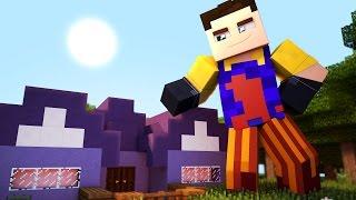 getlinkyoutube.com-Hello Neighbor - THE NEIGHBOR IS A GIANT! (Hello Neighbor In Minecraft Roleplay)