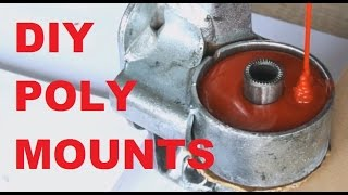 getlinkyoutube.com-How to make DIY polyurethane engine mounts