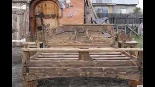 getlinkyoutube.com-деревянная мебель под старину.