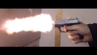 Стрельба из сигнального пистолета Сталкер М906/ Stalker M906  5.6х16