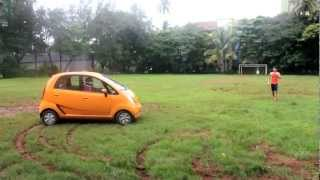 getlinkyoutube.com-Tata Nano Drifting