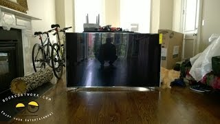 getlinkyoutube.com-Samsung 65-inch F9000 UHDTV (4k) Unboxing & Setup