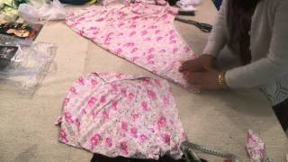 getlinkyoutube.com-Umbrella Dress: Cutting And Explanation
