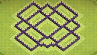 getlinkyoutube.com-Clash Of Clans - Epic Town hall 7 Farming Base ( Town Hall 7 farming ) Speedbuild 2014!