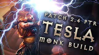 "getlinkyoutube.com-2.4 Monk ""Tesla"" Build: Static Charge Dual-Gen Build - Diablo 3 Reaper of Souls PTR"