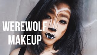Werewolf Makeup Tutorial Recreating Lola Von Esche's Work| Marcella Febrianne