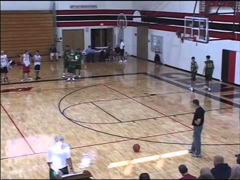 Basketball Plays - Misdirection to Backdoor