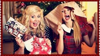 getlinkyoutube.com-Christmas Present Giving with Louise   Zoella