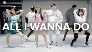 getlinkyoutube.com-All I Wanna Do - Jay Park / Mina Myoung X May J Lee X Sori Na Choreography