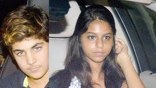 getlinkyoutube.com-Suhana Khan and Aarav Kumar Catch 'Brother's Special Screening