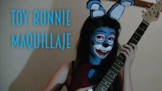 getlinkyoutube.com-FNaF 2 toy bonnie - Maquillaje