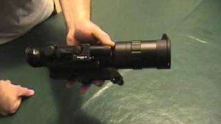 getlinkyoutube.com-Part #1 Cheap Night Vision Rifle Sight #1 9 3 10