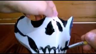 getlinkyoutube.com-Movie-play:как сделать маску (череп)
