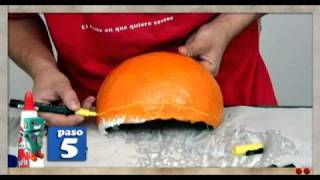 getlinkyoutube.com-Máscara con Globos - Creando en Casa con Pritt