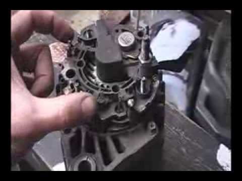 Ремонт генератора Fiat Doblo.