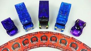 5 MeCard cars 터닝메카드 5종 신제품 Turning MeCard card transformers car toys