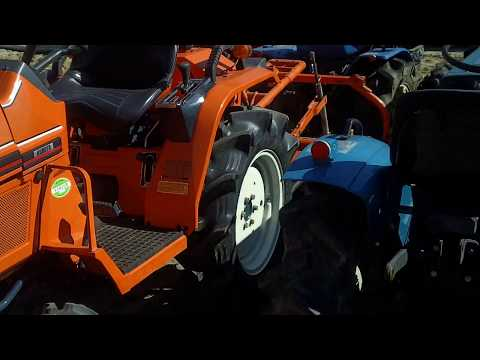 Japanese Compact Tractor .Mini traktory www.traktorek.waw.pl