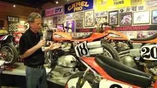 getlinkyoutube.com-Dirt Track Heroes Exhibit at the National Motorcycle Museum