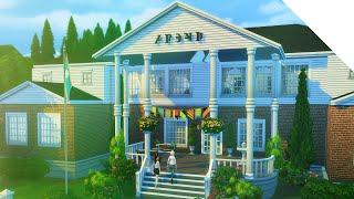 getlinkyoutube.com-The Sims 4 Speed Build — Sorority House
