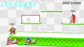 getlinkyoutube.com-Who Can Pass Under the Miiverse Stage? (Super Smash Bros. for Wii U)