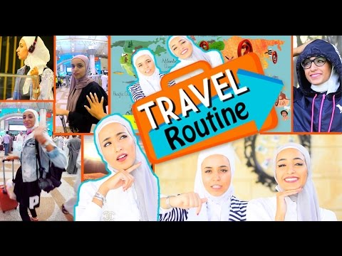 #alkhattafsisters||Travel Routine بلش موسم السفر