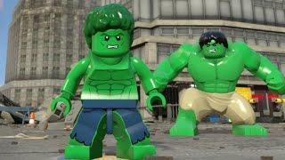 getlinkyoutube.com-LEGO Marvel's Avengers - Lou Ferrigno Unlock + Free Roam (All 4 Lou Ferrigno Missions)