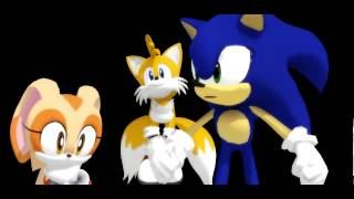 getlinkyoutube.com-MMD - Sonic: EVERYBODY!