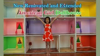 getlinkyoutube.com-One of The Biggest American Girl Doll Houses on YouTube 2015