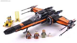 getlinkyoutube.com-LEGO Star Wars Poe's X-Wing Fighter review! 75102
