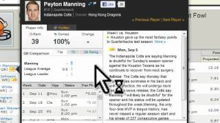 getlinkyoutube.com-Yahoo Fantasy Football Tutorial