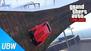 getlinkyoutube.com-벽타기로 바다를 뛰어 넘어야 한다!! [GTA 5 작업탐방] 고난이도 대륙간 탄도 미사일 슈퍼카 레이스!! - GTA 5 Fun Job: 超跑之旅(第四章)急速滑行