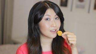getlinkyoutube.com-Kartoffel Chips aus der Mikrowelle in 5 Minuten selbstgemacht DIY