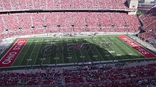 getlinkyoutube.com-The Ohio State Marching Band Sept. 19 halftime show: James Bond