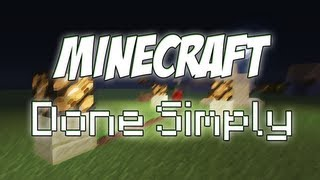 Minecraft Done Simply - 1.5 Daylight Sensor & Switch