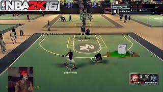 getlinkyoutube.com-NBA 2K16| R.I.P to this mans life! 50K Turn up Twitch live stream - Prettyboyfredo