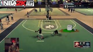 NBA 2K16| R.I.P to this mans life! 50K Turn up Twitch live stream - Prettyboyfredo