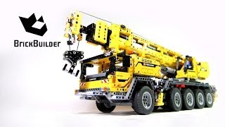 getlinkyoutube.com-Lego Technic 42009 Mobile Crane MK II - Lego Speed build