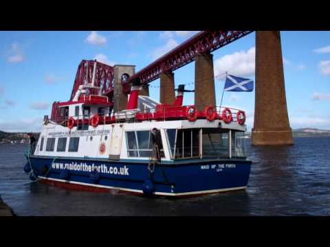 Maid Of The Forth Boat Hawes Pier Firth Of Forth South Queensferry Scotland