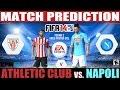 FIFA 14: Athletic de Bilbao vs. Napoli Match Prediction Fase 1 UCL Fecha#2