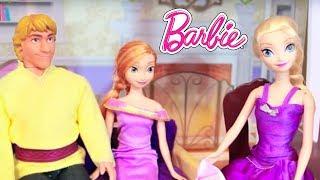 getlinkyoutube.com-ELSA GOES TO THE DENTIST Disney Frozen Anna Barbie Parody Doctor Ken Toy AllToyCollector