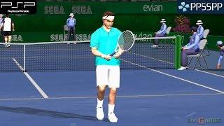 getlinkyoutube.com-Virtua Tennis: World Tour - PSP Gameplay 1080p (PPSSPP)