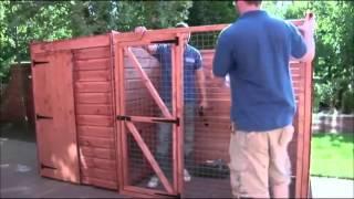 getlinkyoutube.com-How to build a kennel & run by Taylors Garden Buildings