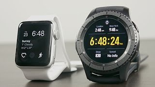 Apple Watch Series 2 vs Samsung Gear S3