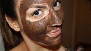 getlinkyoutube.com-Home Made Chocolate Face Mask-  For Glowing Skin Quckly